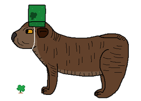 Mud Puddle is ready for Saint Patrick's Day by Umbreon-Fan-4