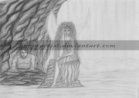 Cave Fae by ineptartist