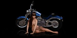 Bike n Babe by GrannyE