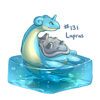 131 - Lapras by oddsocket