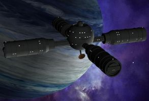 Space Station Frontier Seven by gregar69