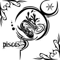 Zodiac Sign Tattoo : Pisces by MPtribe