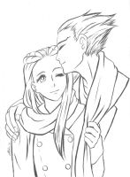 Iris and Nick by Meii-chan
