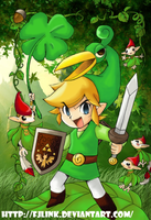 Minish Cap Link by FJLink