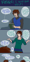 Inheritance Comic: Dating Advice by ElizaLento