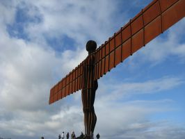 Angel of the North by Karkit