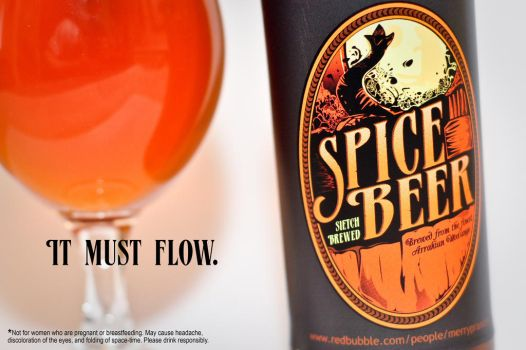 Spice Beer Advertisement by merrypranxter