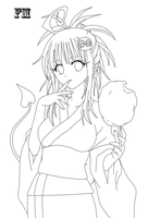Lala Lineart by FM013