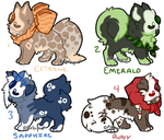Osteo Pups Adopt - Round 1 - CLOSED by PixByrd