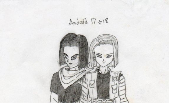 Android 17 and 18 by Megus