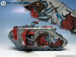 Grey Knights Landraider by denofimagination