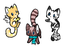 Kitten adoptables: Name your price! [CLOSED] by FluffballAdopts