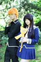 Fruits Basket #6: Tohru and Kyo by AilesNoir
