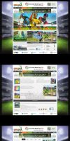 ICC World Cup Game Website by workstation
