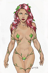 POISON IVY !!! by carlosbragaART80 colored #01 by WeaponTheory