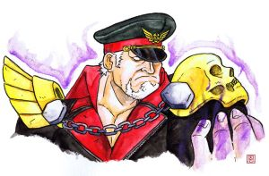M.Bison / Vega  Street Fighter V Alternate costume by Shadaloo1989