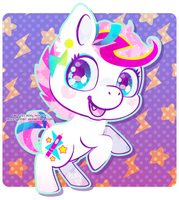 Zowie Stardust Crystal Pony by Miss-Glitter