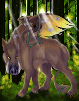 The Avatar of Juno The Flying Boar by Kona-Ann