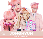 Jonghyun PNG Pack #2 - She Is (Teaser Photoshoot) by Bears-and-Cookies