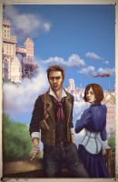 Bioshock Infinite by Kulibrnda