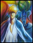 Ichigo, Hollow and Full Hollow by hy2009