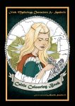 Colouring book cover - Front Banshee without tears by Aurelie-S