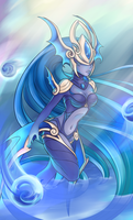 Atlantean Syndra by Iiyume