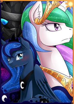 [Poster(?)] Luna And Fakestia by vavacung