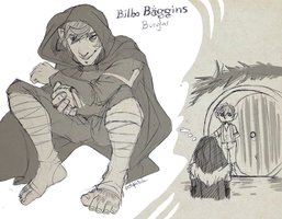 Bilbo Baggins: Expectation vs. Reality by Lokipitch