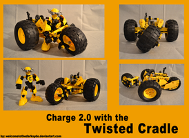 Charge 2.0 and the Twisted Cradle by welcometothedarksyde