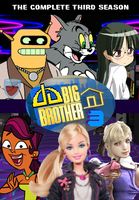 Big Brother DA ORG 3 DVD Cover by shadow0knight