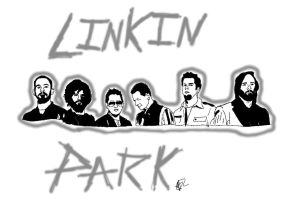 Linkin Park -Black and White by Alice-KnightShadow