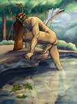 The Horned God by Rizerax