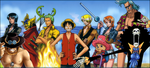 One Piece Banner by Shimimaro