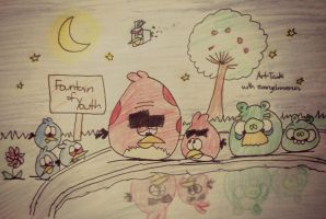 Angry Birds - The Fountain of Youth by AngryBirdsStuff