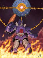Galvatron and the Planet Eater by PiusInk