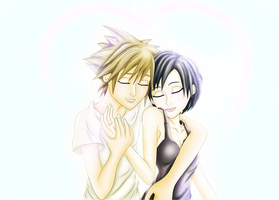 I'm With You - Happy Sora/Xion Day 2013 by VanitasPrincesss