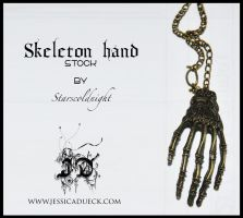 Skeleton hand stock by starscoldnight by StarsColdNight
