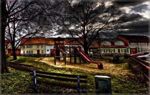 the yard's playground by Ditze