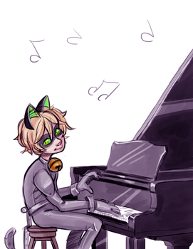 Piano by Jabbym