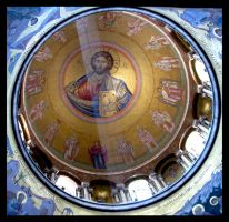 Christ Pantocrator by maska13