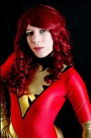 Dark Phoenix Photoshoot by CapesandCowlsAnon