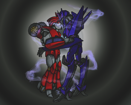 TFP Soundwave and Knockout greeting by RazzieMbessai