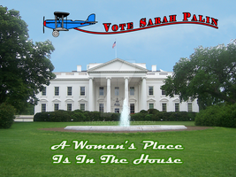 A Woman's Place Vote Palin by YehudisL