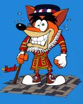 Crash bandicoot London beefeater by rods3000