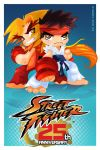 STREET FIGHTER 25TH ANNIVERSARY TRIBUTE by vancamelot