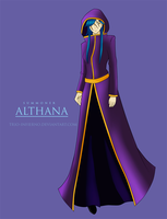 Summoner Althana by Trio-Infierno