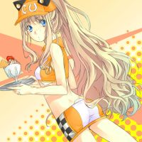 Waitress SeeU by risu-chii