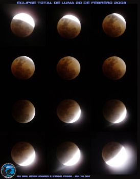 Lunar Eclipse from Nicaragua by ungaman