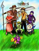 Final Fantasy Gold by luzeon